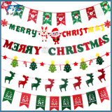 Decoración no tejida del árbol de navidad de la decoración de la Navidad