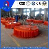 Disco de la serie de ISO9001 Rcdb/separador electromágnetico para el mineral de hierro/el carbón/la planta de mina