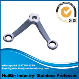 45° (Se reduzindo em um funcionado) encaixe de tubulação rosqueado lateral do aço inoxidável