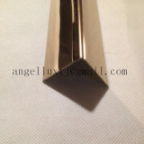 角の金属の端のトリムの中の青銅色ミラーの終わりのステンレス鋼のまっすぐな端のタイルのトリム