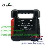 Nuovo dispositivo d'avviamento di salto di arrivo per la batteria del camion dell'automobile 12V & 24V