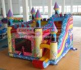 Festejar o ângulo de Diversões Castlethemed equipamentos de playground insufláveis
