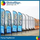 Imprimé en couleur de 4,5 m battant des bannières pour les événements sportifs