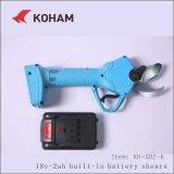 Electric Secateurs cizalla de mano herramientas de corte de tijera de pilas