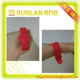 FM1108 ChipsのスマートなPVC/ABS /Paper /Silicone Rubber Wristband