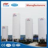 réservoir de stockage cryogénique d'oxygène liquide de l'acier inoxydable 15m3