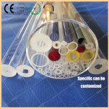 Freies kurzes Längen-Quarz-Gefäß, gekennzeichneter Quarz-Glas-Ring