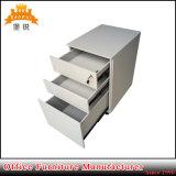 現代安い卸し売り移動可能なオフィスの鋼鉄3引出しの可動装置のキャビネット