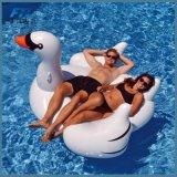 60 손잡이 팽창식 물 부유물 수영장을%s 가진 인치 1.5m 거대한 백색 백조
