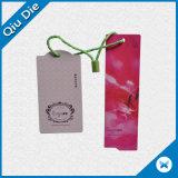 Kundenspezifisches Offest druckte Papierschwingen-Marken-Pappnamensmarke