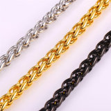 De in het groot Ketting van de Halsband van de Halsbanden van de Manier van Juwelen Roestvrij staal Verdraaide