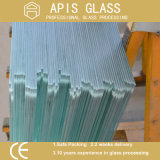 5mm, 6mm 10mm Bordas Lápis polido e cantos de segurança de vidro temperado