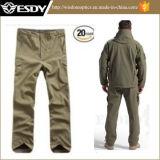 Pantalon imperméable à l'eau respirable de la chasse extérieure des hommes neufs verts de type d'armée