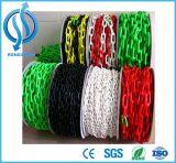 多彩なトラフィックの障壁の倉庫に入れるプラスチック鎖の中国の製造所