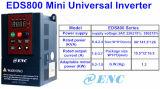 Mini inversor de la frecuencia con la potencia 0.75kw a 1.5kw 220V 380V