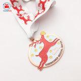 Cadeaux promotionnels Décoration de Noël Deer médaille de métal