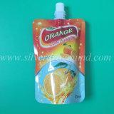 Lamellierter Folien-Fastfood- Tülle-Beutel für kosmetisches Produkt