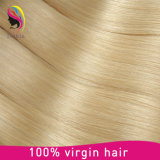 Het Mongoolse Maagdelijke Rechte Menselijke Braziliaanse Blonde Haar Remy van 100%