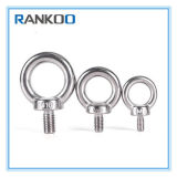 1/4 boulon d'oeil de levage d'acier inoxydable (DIN580) dans le matériel
