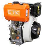14HP de Kleine Dieselmotor van het Begin van de terugslag (het Groene geval van de Ventilator)
