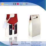 Bouteille de vin Boîte avec clair PVC (2310R32)
