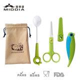 陶磁器の食糧はさみまたはフルーツの折るナイフまたは挿入のスプーンのための赤ん坊の心配か製品