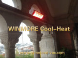 Pátio de aquecimento por infravermelhos eléctrico Aquecedor com controlo remoto para o quintal/Varanda/salão de banquetes/Churrasqueira