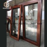 Toldo de cristal tallado con arcos de la ventana fija transversal