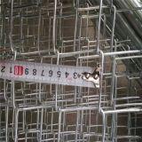 Qualität galvanisierter Kettendraht-beweglicher temporärer Aufbau-Zaun
