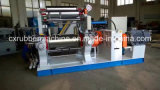 Machine ouverte de moulin de mélange en caoutchouc de deux rouleaux avec le mélangeur courant