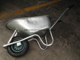 Lo zinco ha placcato la carriola galvanizzata Wb6414 dell'onere gravoso