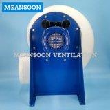 Ventilador de Exhasut del armario de humo del laboratorio de 300 plásticos