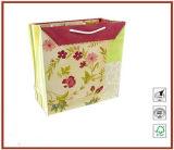 [وهولسلس] عادة رخيصة علامة تجاريّة يطبع يعبر ورقيّة هبة حقائب مع حبل مقبض