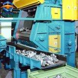 Máquina de sopro do tiro da correia da queda para a limpeza peças de aço pequenas