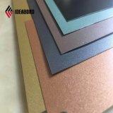 Konkurrenzfähiges silbernes dekoratives Aluminiumpanel des Preis-Bauvorhaben-4mm