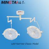 Lampada chirurgica dell'indicatore luminoso Shadowless di funzionamento del soffitto LED720 con il certificato del Ce