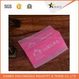 Étiquette tissée par vêtements faits sur commande faits sur commande de vêtement de tissu d'impression de collant de vêtement