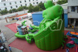 Carcasse 2015 de Special Design Inflatable Green The Dry Slide à vendre