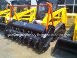 machinerie de construction Crawler Mulcher chargeuse à direction à glissement avec de la foresterie