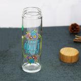 [600مل] [بورتبل] زجاجيّة هبة فنجان رياضة زجاجة مع خيزرانيّ غطاء سفر زجاج فنجان