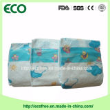 Ensolarado um tecido descartável do bebê do sentimento do algodão da classe & da absorvência elevada