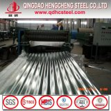 Chapa de aço ondulada galvanizada Z150 de ASTM A653