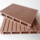 Decking composé en plastique en bois extérieur chaud du panneau WPC