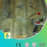 la noix de la perle AC3 de 8.3mm V-Grooved a ciré le plancher en stratifié bordé