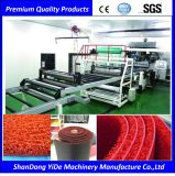 PVC 두 배 색깔에 의하여 살포되는 코일 지면 및 차 발 매트 플라스틱 압출기 기계