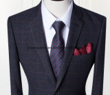 Los trajes de moda de los hombres de los pantalones de la capa del vestido del ajuste de encargo / el smoking