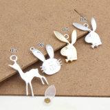 بالجملة نمو سبيكة مدلّيات أرنب ورقة نوع ذهب يصفح مينا