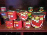 Banheira de vender carne fresca de excelente qualidade para a produção de conservas de tomate