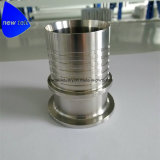 Sanitary Style Bevel Seat End Holedall Fitting Crimp Stem