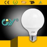 Горячий шарик освещения 6000k E27 G95 12W СИД